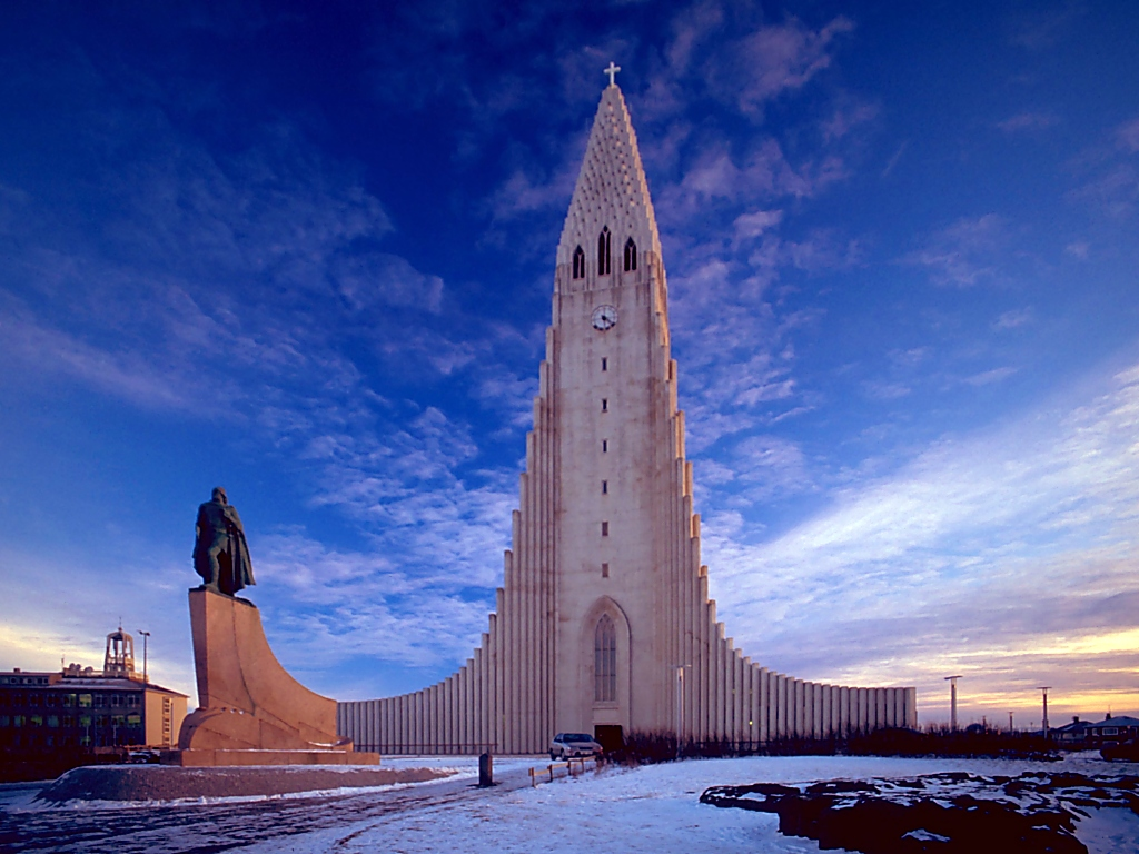 Hallgrímskirkja Kirche