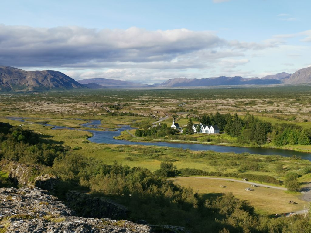 Thingvellir Nationalpark Südisland