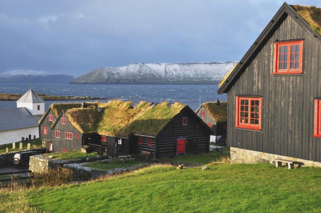 Faroe Islands Streymoy Kirkjubøur